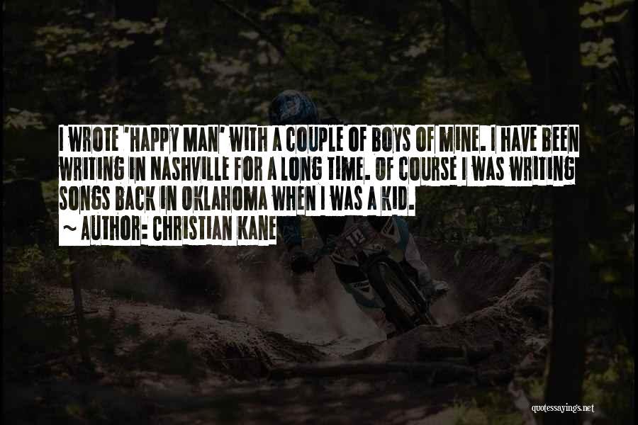 Oklahoma Kid Quotes By Christian Kane