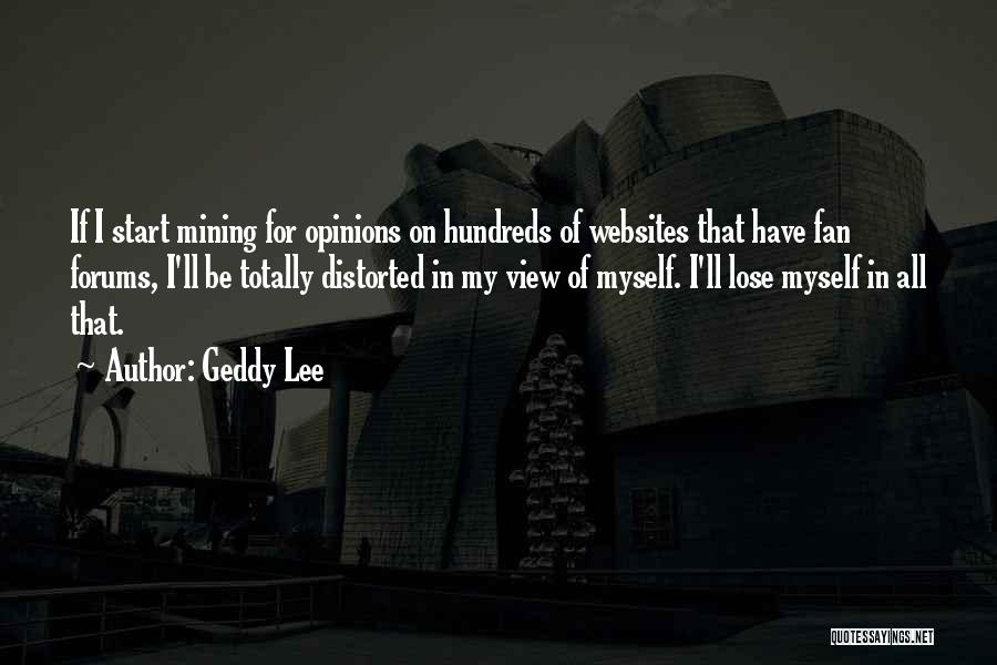 Oksana Rus Quotes By Geddy Lee