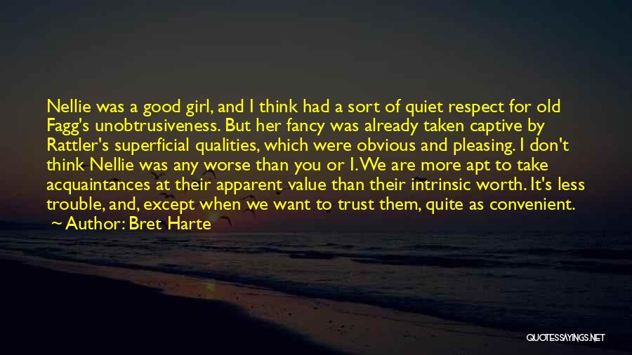 Old Acquaintances Quotes By Bret Harte