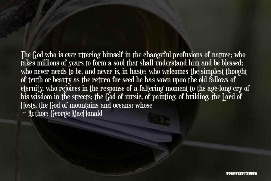 Old Age And Time Quotes By George MacDonald