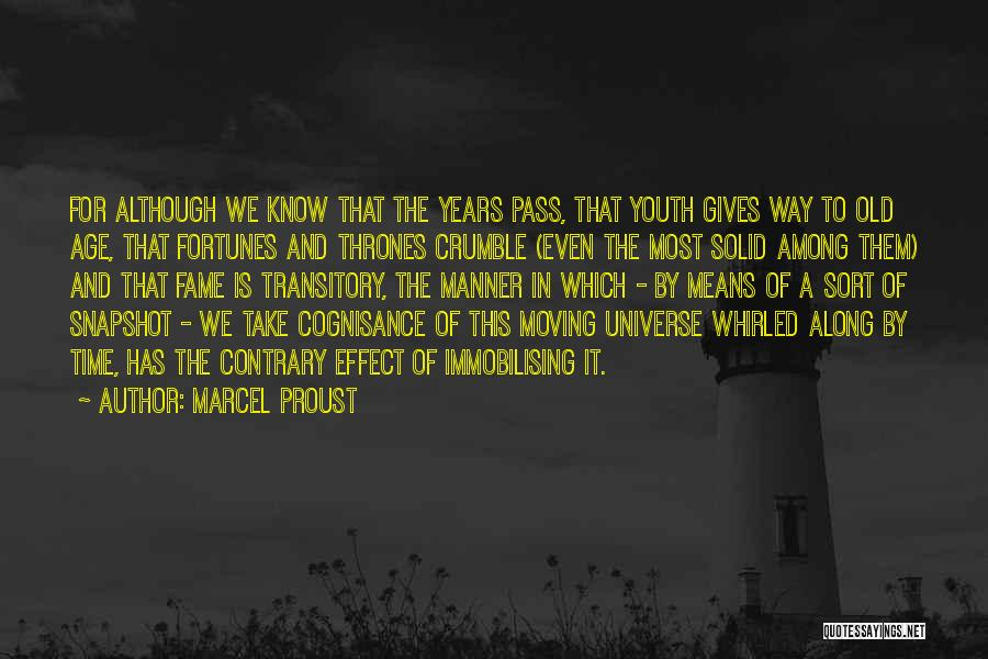 Old Age And Time Quotes By Marcel Proust