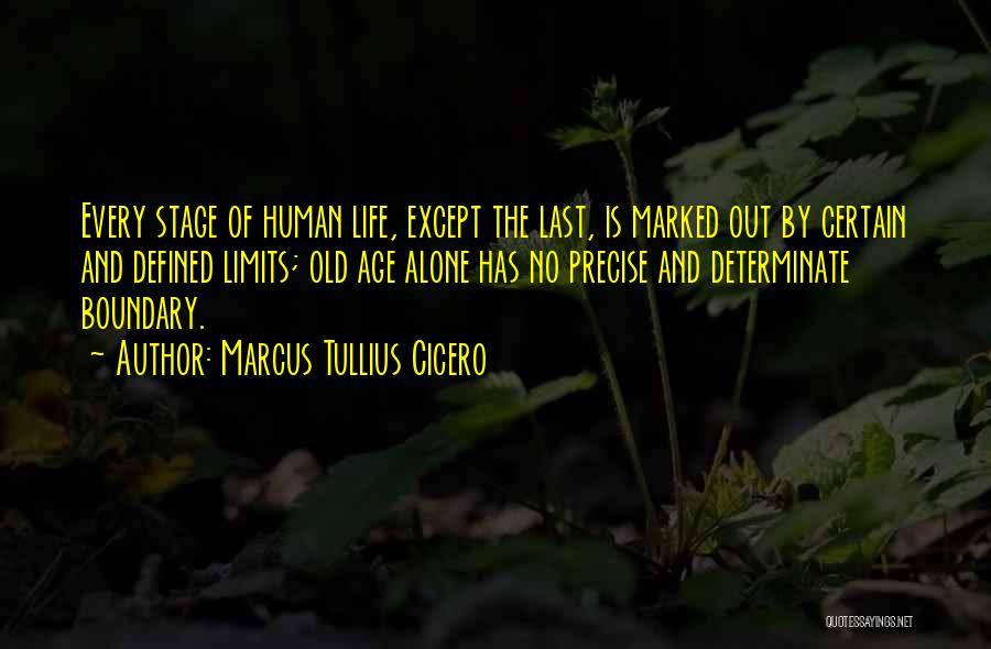 Old Age And Time Quotes By Marcus Tullius Cicero