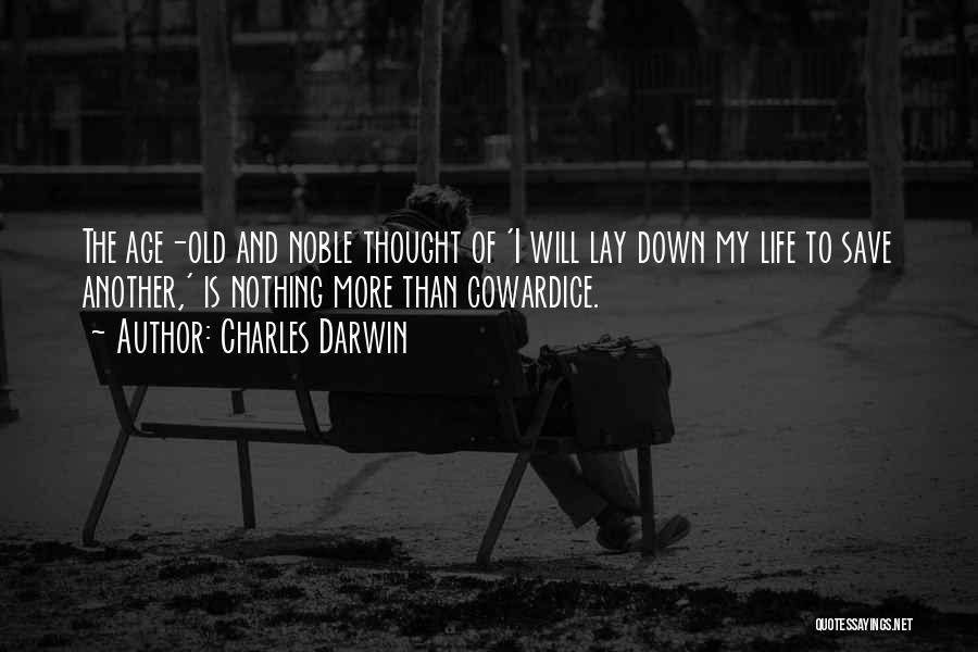 Old Age Life Quotes By Charles Darwin
