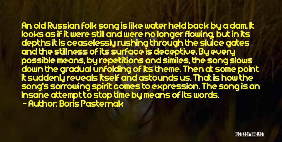 Old Folk Quotes By Boris Pasternak