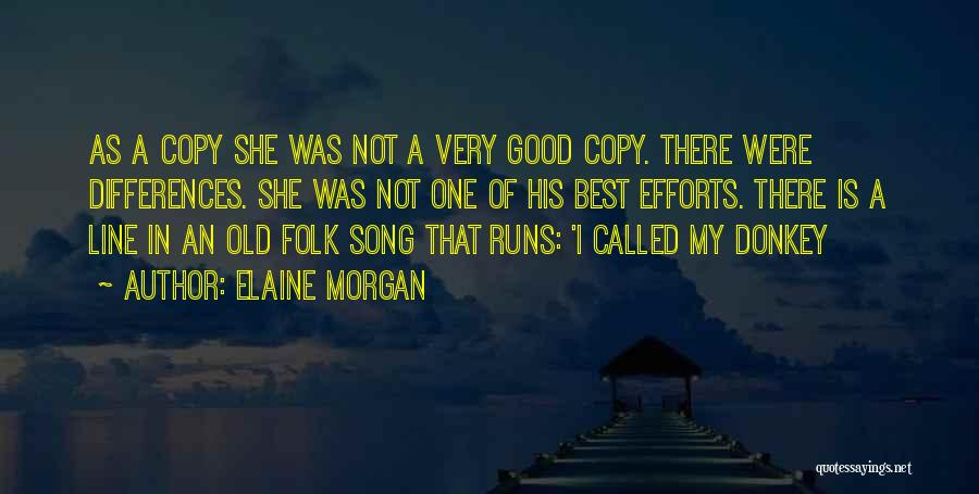 Old Folk Quotes By Elaine Morgan