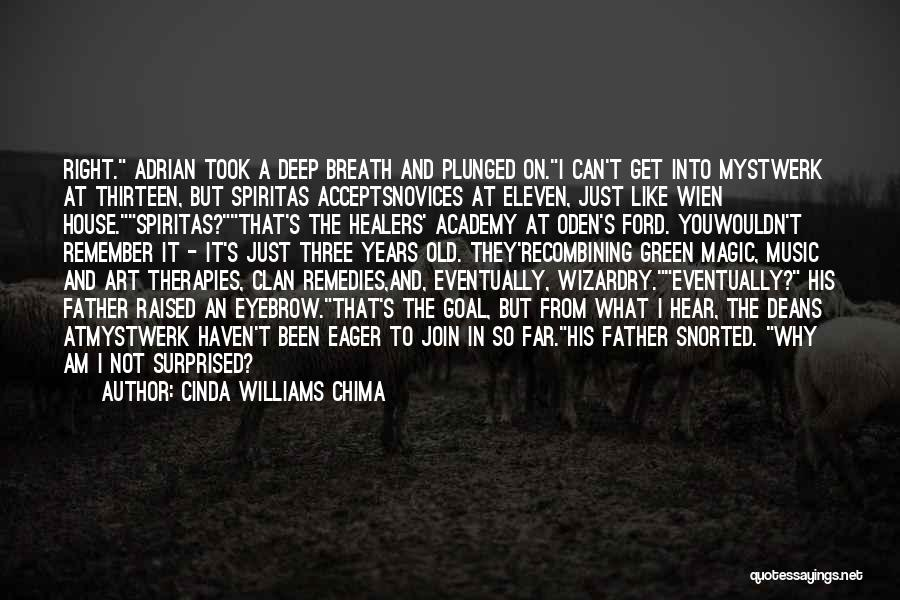 Old Ford Quotes By Cinda Williams Chima