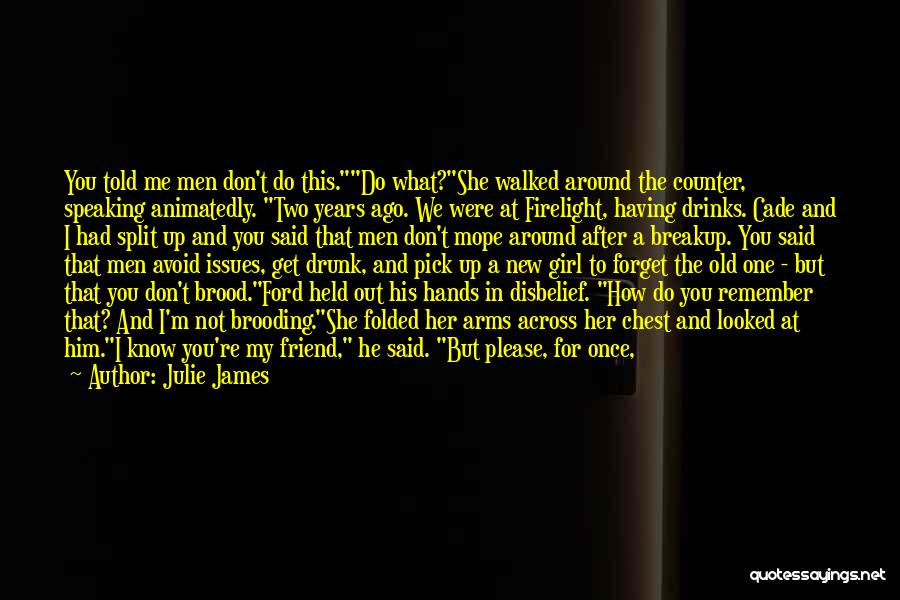 Old Ford Quotes By Julie James