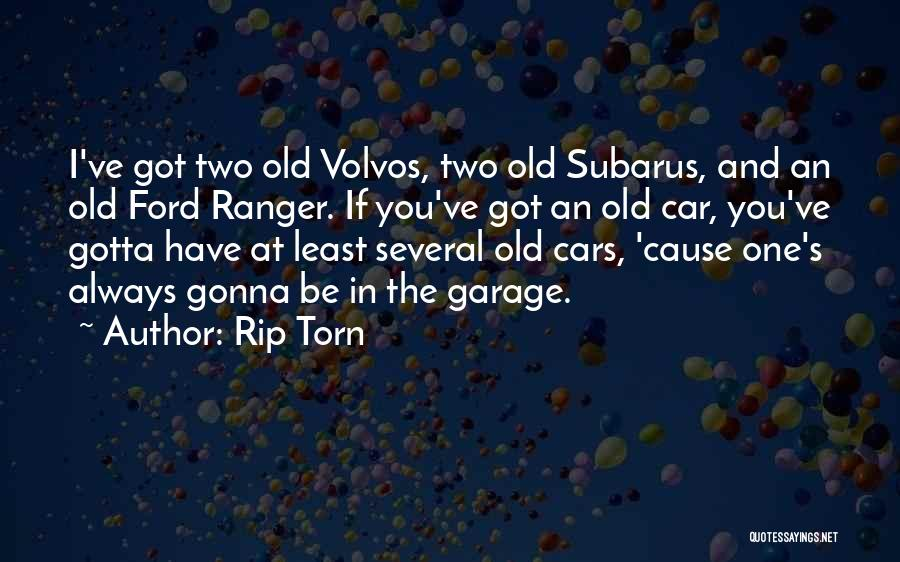 Old Ford Quotes By Rip Torn