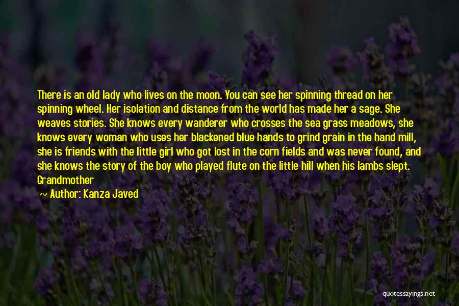 Old Lost Friends Quotes By Kanza Javed