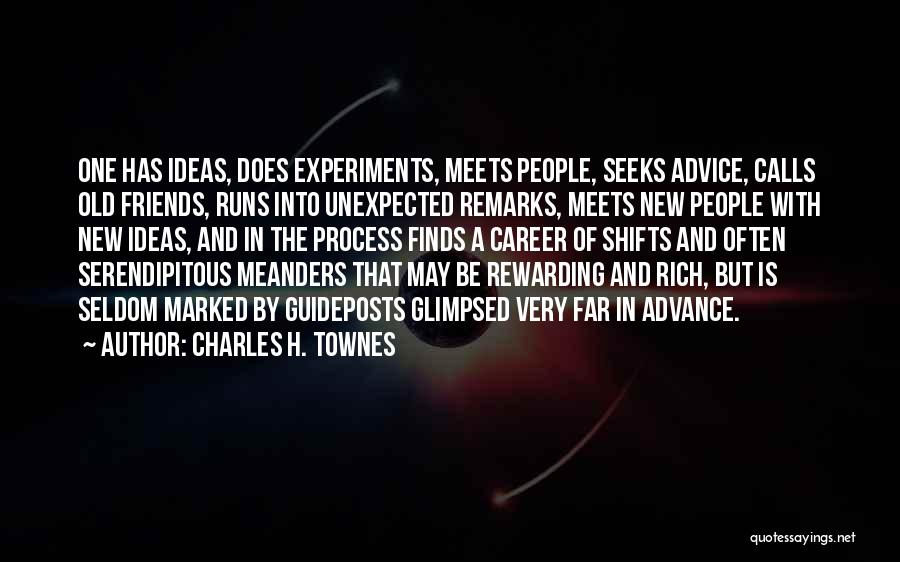 Old Meets New Quotes By Charles H. Townes