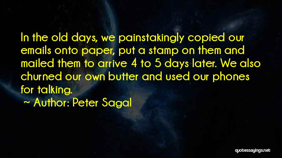 Old Phones Quotes By Peter Sagal