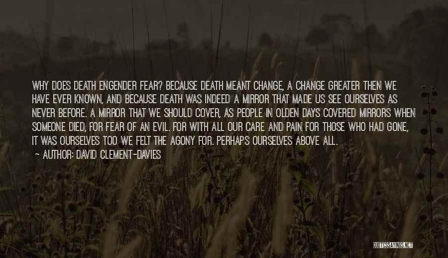 Olden Quotes By David Clement-Davies