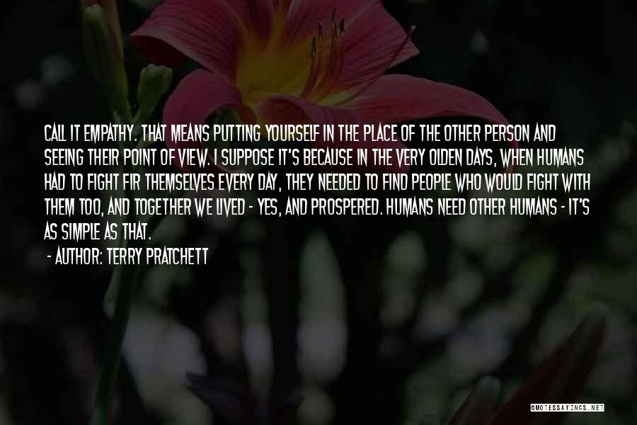 Olden Quotes By Terry Pratchett