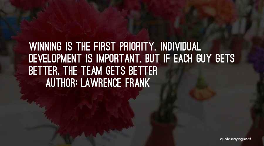 Oliver Hassencamp Quotes By Lawrence Frank