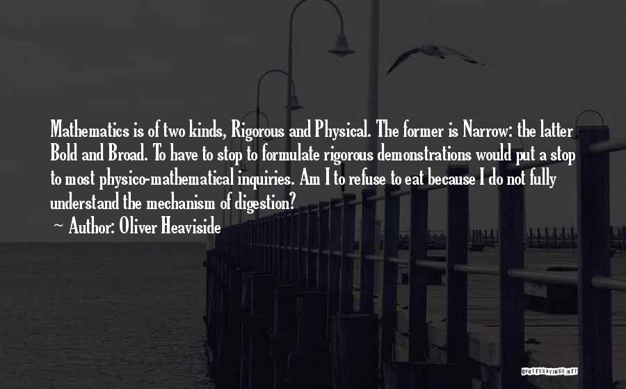 Oliver Heaviside Quotes 1948660