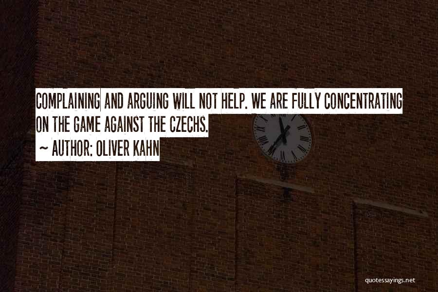 Oliver Kahn Quotes 416039
