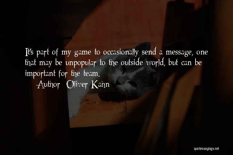 Oliver Kahn Quotes 437179