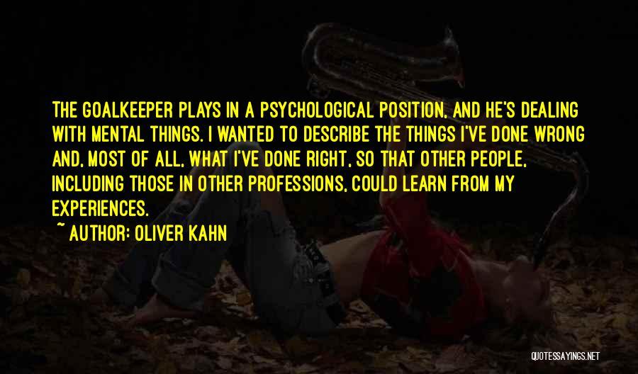 Oliver Kahn Quotes 704204