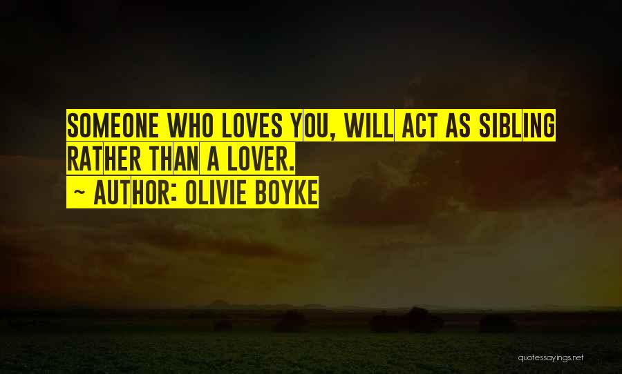 Olivie Boyke Quotes 1797781