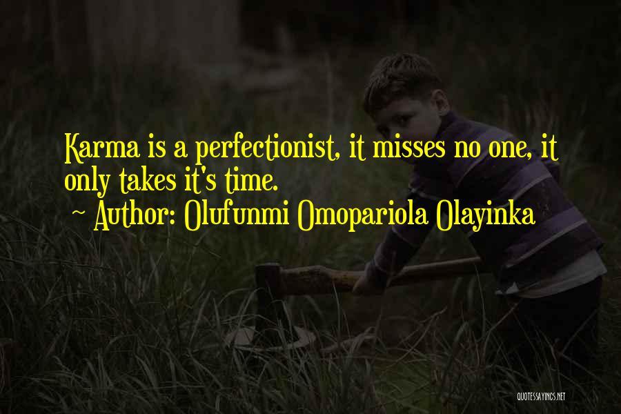 Olufunmi Omopariola Olayinka Quotes 487042