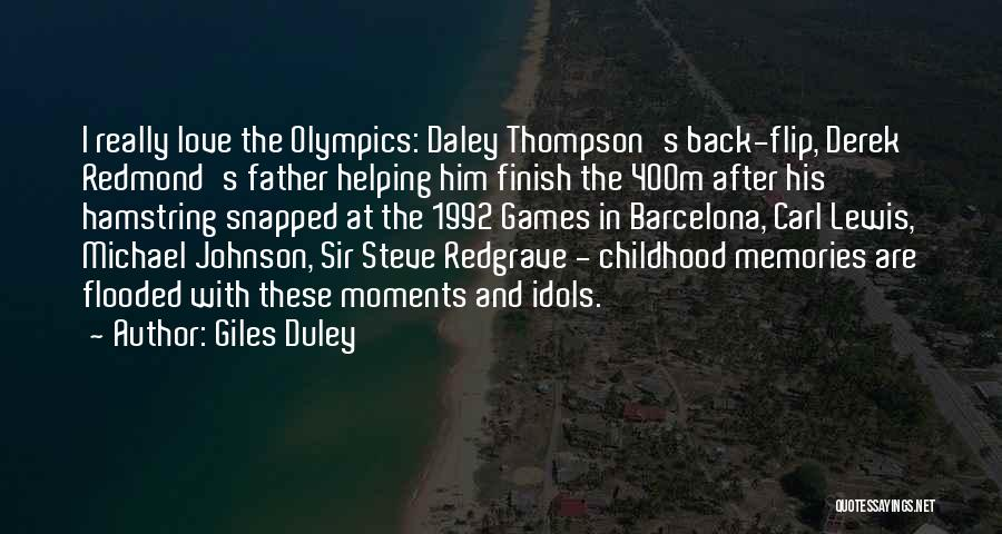 Olympics Games Quotes By Giles Duley