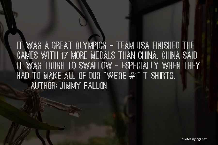 Olympics Games Quotes By Jimmy Fallon