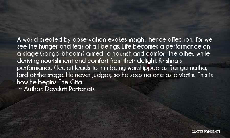 On Stage Performance Quotes By Devdutt Pattanaik