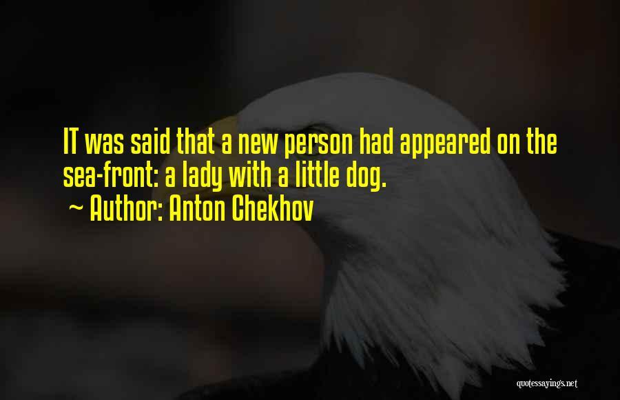 On The Sea Quotes By Anton Chekhov