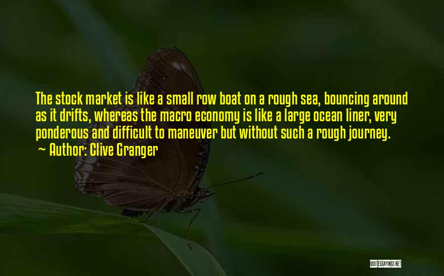 On The Sea Quotes By Clive Granger