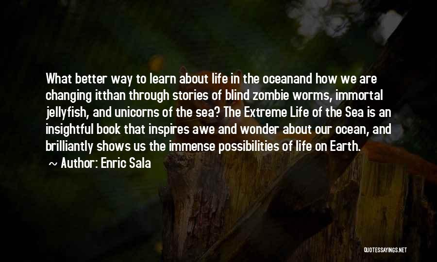 On The Sea Quotes By Enric Sala