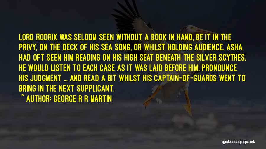 On The Sea Quotes By George R R Martin