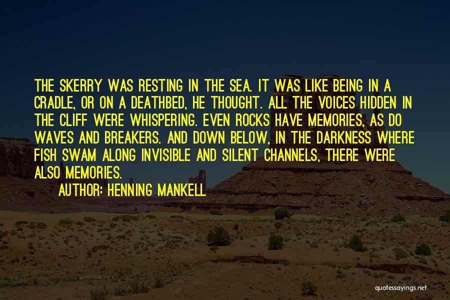 On The Sea Quotes By Henning Mankell