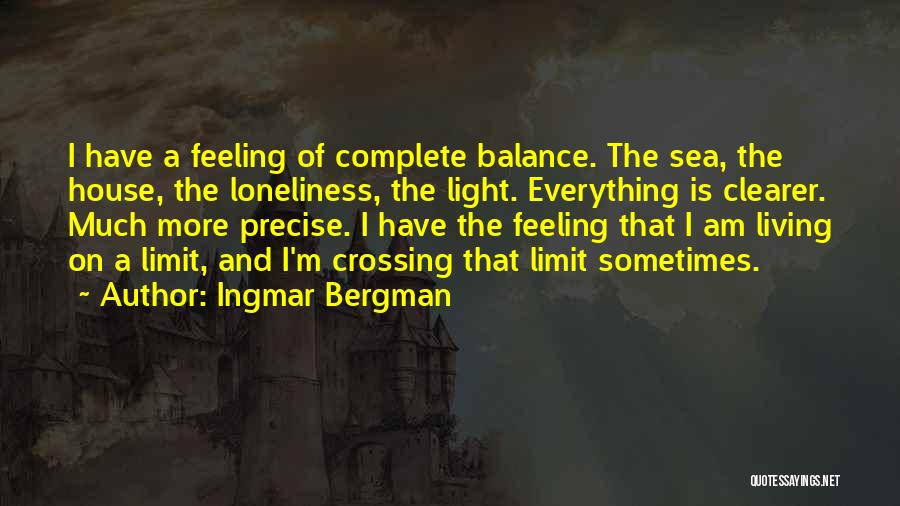 On The Sea Quotes By Ingmar Bergman