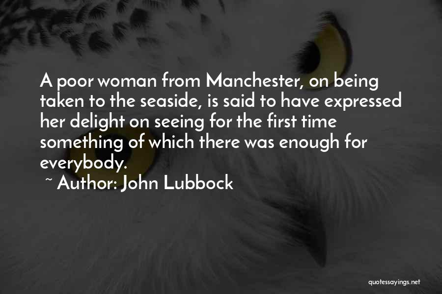 On The Sea Quotes By John Lubbock