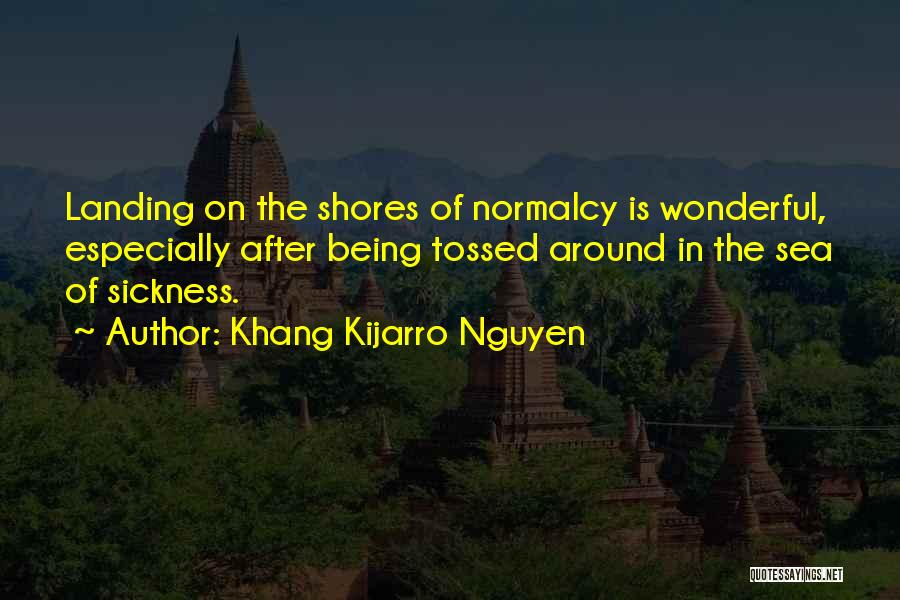 On The Sea Quotes By Khang Kijarro Nguyen
