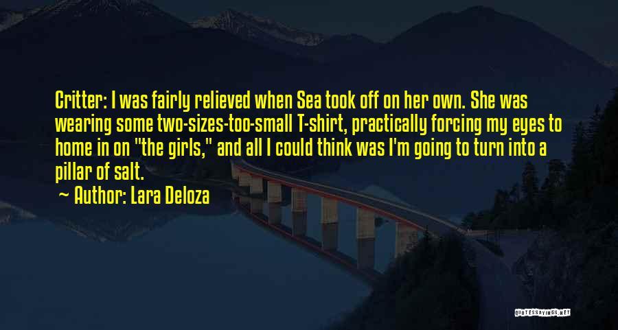 On The Sea Quotes By Lara Deloza