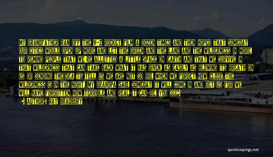 On The Sea Quotes By Ray Bradbury