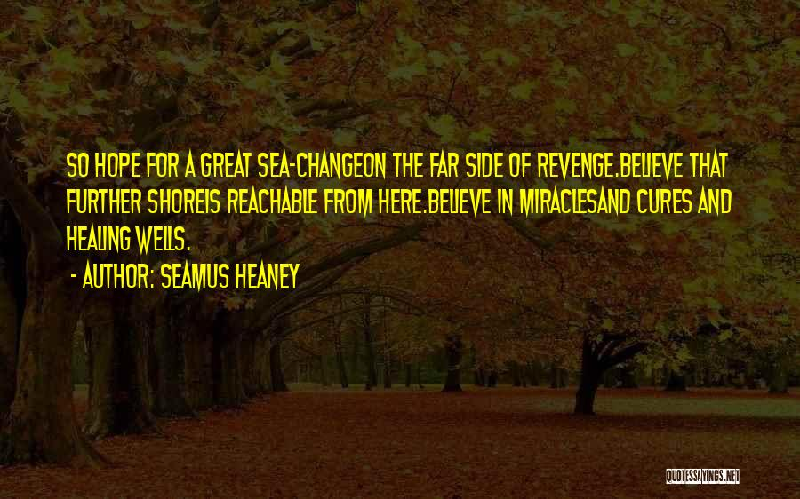 On The Sea Quotes By Seamus Heaney