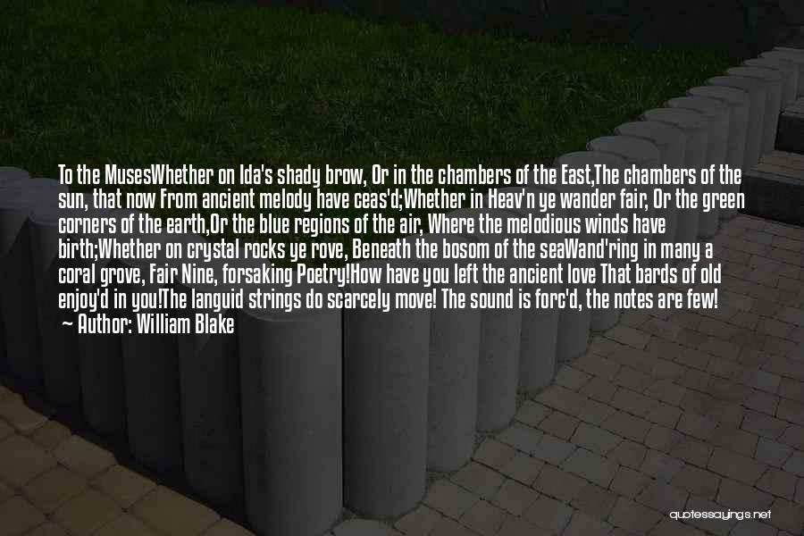 On The Sea Quotes By William Blake