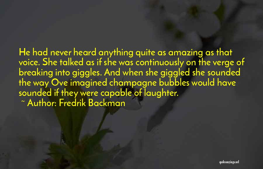 On The Verge Of Breaking Up Quotes By Fredrik Backman