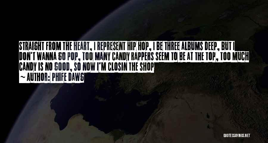 On Top Rap Quotes By Phife Dawg