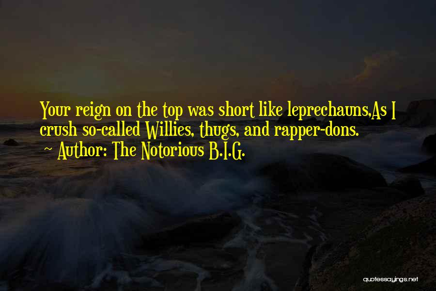 On Top Rap Quotes By The Notorious B.I.G.