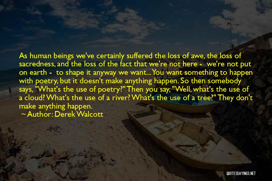 On Writing Well Quotes By Derek Walcott