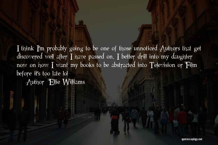 On Writing Well Quotes By Ellie Williams