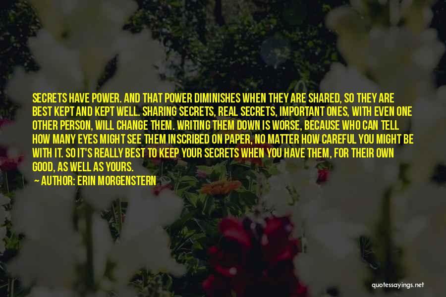 On Writing Well Quotes By Erin Morgenstern