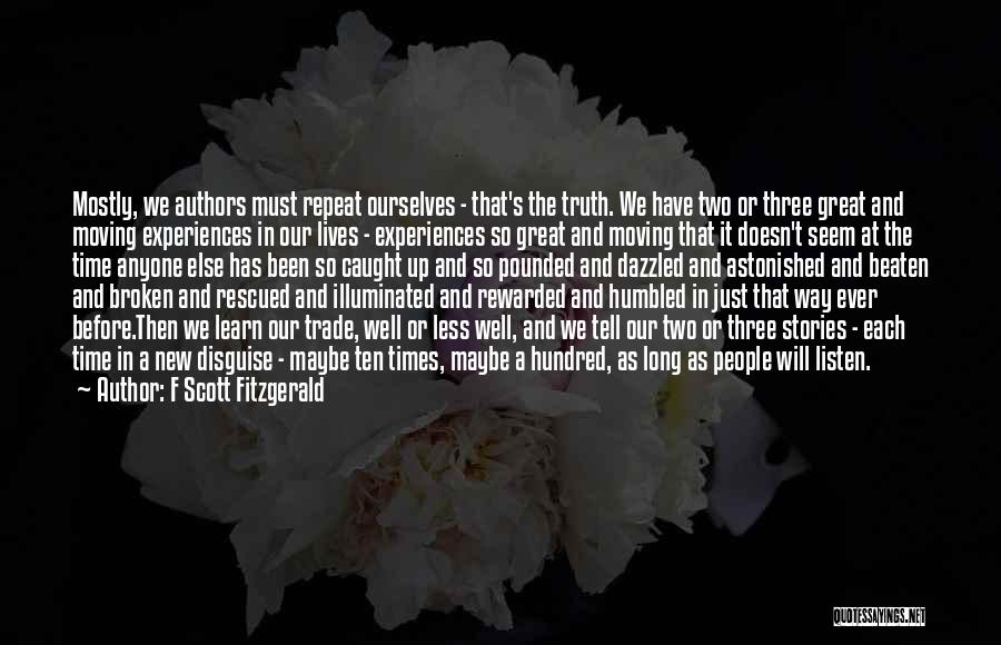 On Writing Well Quotes By F Scott Fitzgerald