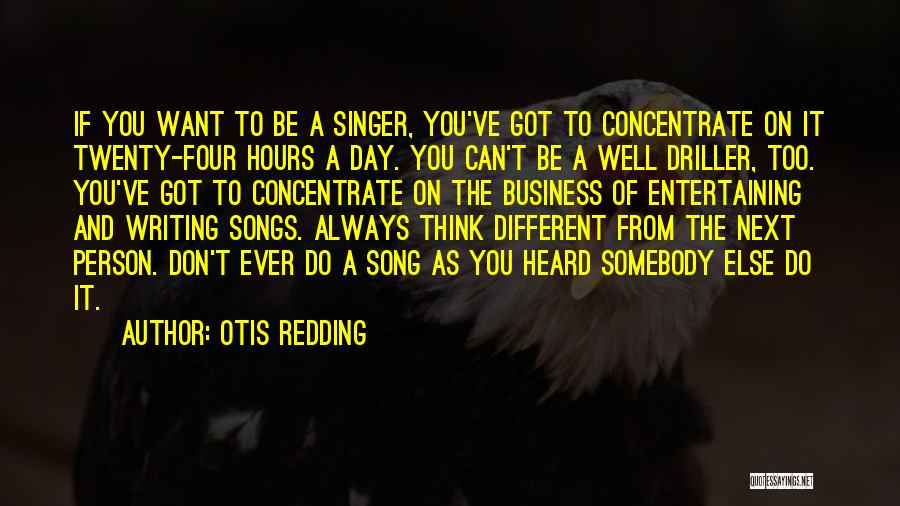On Writing Well Quotes By Otis Redding