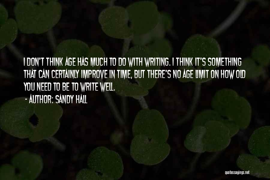 On Writing Well Quotes By Sandy Hall