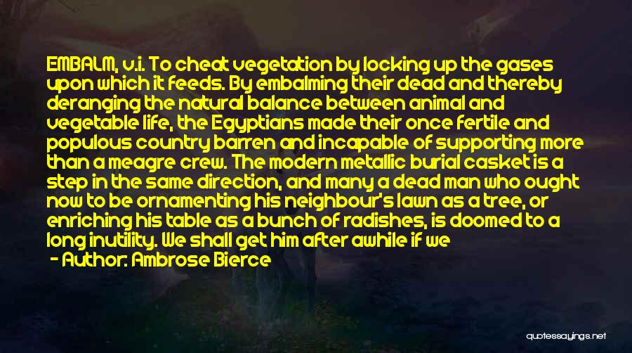 Once A Cheat Quotes By Ambrose Bierce
