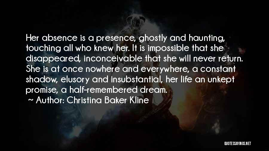 Once A Dream Quotes By Christina Baker Kline